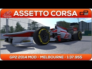 Assetto Corsa | GP2 2014 MOD - Melbourne 1:37.955