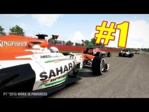 [#1] F1 2013 - Wyzwania Sezonowe - No Commentary