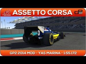 Assetto Corsa | GP2 2014 MOD - Yas Marina 1:55.172