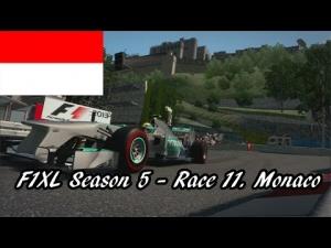 F1XL Season 5 - Race 11. Monaco