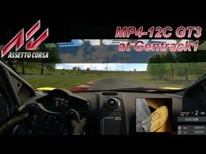 Assetto Corsa hotlap - McLaren MP4-12C GT3 at Gentrack1