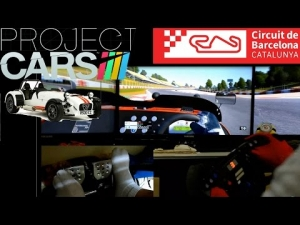 Project CARS - Caterham R500 @ Barcelona GP