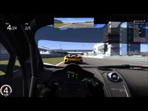 assetto corsa:mixed gt class race at nurburgring gp