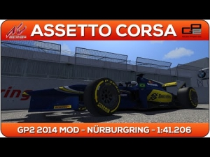 Assetto Corsa | GP2 2014 MOD - Nürburgring 1:41.206
