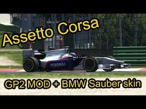 Assetto Corsa GP2 Mod + BMW skin