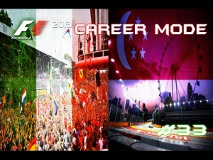 F1 2013 | Career Mode: Episode 33 - Italy + Singapore: A Mixed Bag (S3)