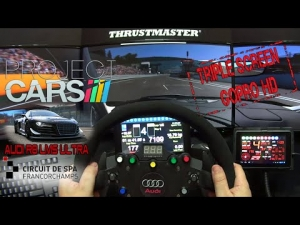 Project CARS - Audi R8 LMS Ultra @ Spa Francorchamps