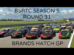 iRacing BSRTC Season 5 Round 31 from Brands Hatch Circuit - What a muppet!