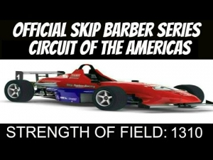 iRacing Skip Barber Official race at Circuit of the America #1