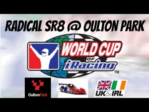 iRacing World Cup Qualifier at Oulton Park Circuit in the Radical SR8