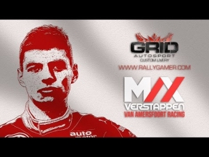 GRID Autosport - Custom Livery - Max Verstappen Formula 3