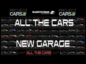 Project CARS - All Cars New Garage