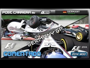 F1 2013 + 2014 Mods + Hockenheim (F1 2012 conversion)