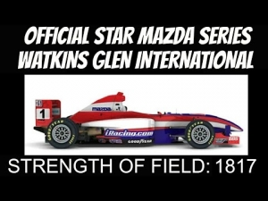 iRacing Star Mazda Official race at Watkins Glen International - Solid clean race