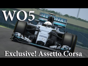 AC Exclusive - Mercedes W05 WIP , First Look