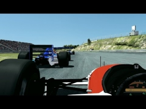 rFactor 2 Mclaren MP4/7 - Senna Onboard at Estoril [F1 1992]