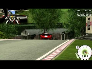 [Race 07] - Ferrari 458GT - Nurburgring Nordschleife - Steering Wheel - Full HD
