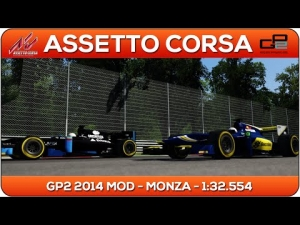 Assetto Corsa | GP2 2014 MOD - Monza 1:32.554