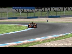 iRacing Dallara Indycar DW12 @ Donington Park