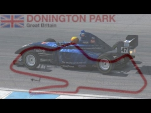 iRacing First few laps in the Star Mazda at Donnington
