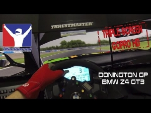iRacing - New Donington Gp @ BMW Z4 GT3