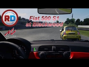 Assetto Corsa MP - Fiat 500 S1 at Blackwood (highlights)