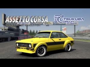 Assetto Corsa [HD+] ★ Ford Escort Mk2 @ Tsukuba