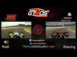 Real Life vs iRacing | Dallara Indycar DW12 @ Barber (Video & Audio)