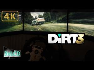 Dirt 3 Triple Screen Group B Audi Quattro in Ultra settings POV 4K