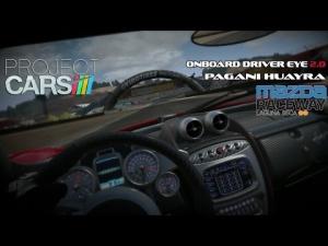 Project CARS - Onboard Driver Eye Huayra @ Laguna Seca