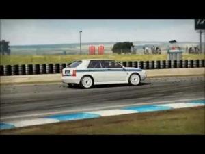 Lancia Delta HF Integrale MARTINI RACING EDITION - NfS SHIFT 2