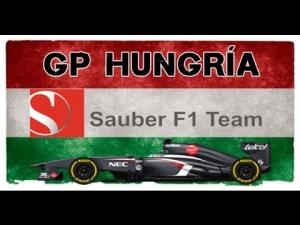 F1 2013 | GP de Hungría | Esteban Gutiérrez | Sauber F1