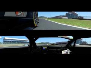 rFactor 2 - DTM Aura T5 @ Silverstone - Triple Screens
