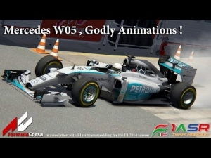 AC , F1 2014 Mercedes , Godly Animations