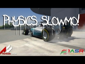 AC , F1 2014 W05 Mercedes Physics , Slowmo