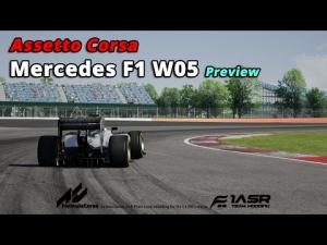 Assetto Corsa Mercedes F1 W05 Hybrid @ Silverstone