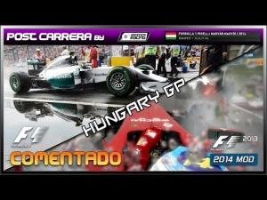 F1 2013 + 2014 Mods (Hungarian Grand Prix) | Post Carrera by ADRIANF1esp