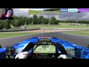 iRacing BSRF1 Preseason race at Donnington GP - Chaos at the start!