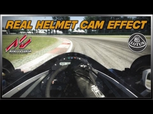 Assetto Corsa - Real Helmet Cam Effect (Lotus 98T @ Imola)