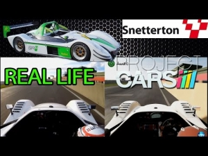 Project CARS - REAL LIFE CHECK - Radical SR8 @ Snetterton 200