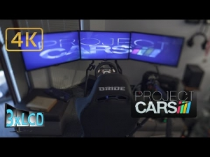 Project CARS virtual Blancpain 24hrs of Spa 2014 Triple Screen in Ultra settings POV 4K