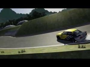 BMW E30 2JZ Ebisu Drifting !