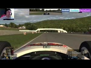 iRacing Official Skip Barber race from Lime Rock Park - Nice clean drive