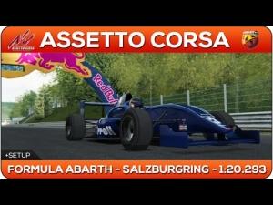 Assetto Corsa | FORMULA ABARTH - Salzburgring 1:20.293 + Setup