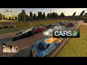 Project CARS 5800x1080 panoramic total destruction derby at karting track