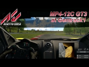 Assetto Corsa hotlap - McLaren MP4-12C GT3 at Gentrack1