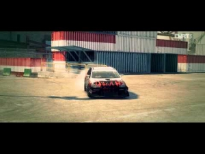 [DIRT 3] - Mitsubishi Lancer Evo X Jun - Gymkhana Sprint - Logitech G27 - Full HD
