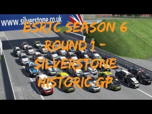 iRacing BSRTC Season 6 Round 1 from Silverstone Historic GP