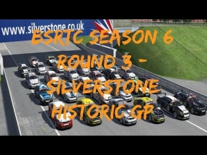 iRacing BSRTC Season 6 Round 3 from Silverstone Historic GP