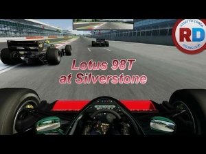 Assetto Corsa MP - Lotus 98T at Silverstone (highlights)